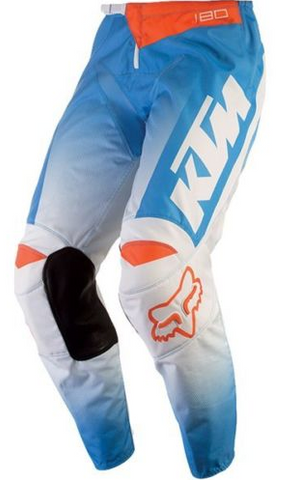 KTM FOX 180 YOUTH PANT WHITE MX OFF-ROAD