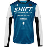 Shift Syndicate Whit3 Label Jersey - BLUE