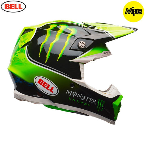 Bell MX Moto-9 Mips Adult Helmet (Tomac Monster Replica)