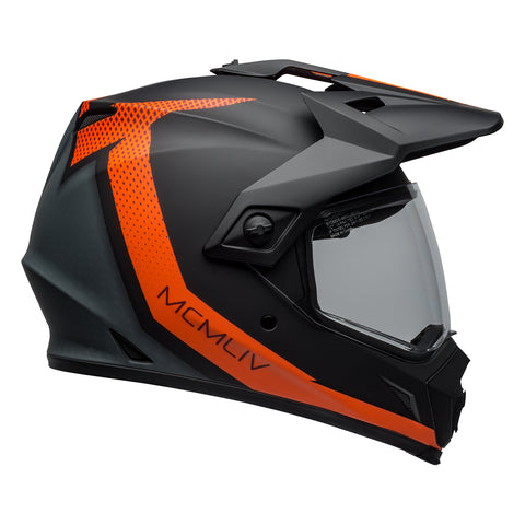 Bell MX-9 Adventure Mips Helmet (Switchback Matte Black/Orange)
