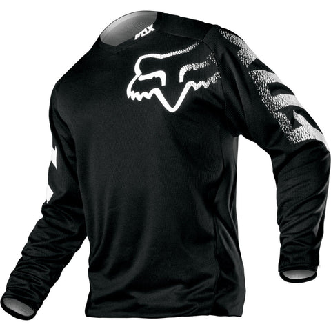 Fox Blackout MX Black Jersey