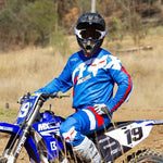Fox 180 Cota Blue MX Jersey