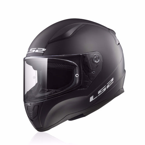 LS2 Rapid Fullface Helmet FF353 (SINGLE MONO MATT BLACK)