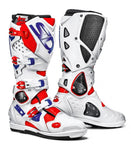 SIDI Crossfire 2 SRS MX Boots - Red Blue White