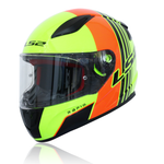 LS2 Rapid Fullface Helmet FF353 MULTIPLY ORANGE YELLOW