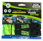 "ROK straps Adjustable Motorcycle Stretch 18""-60"""