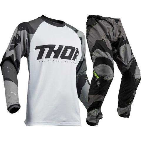 Thor S9 Sector Camo MX Jersey And Pants Set