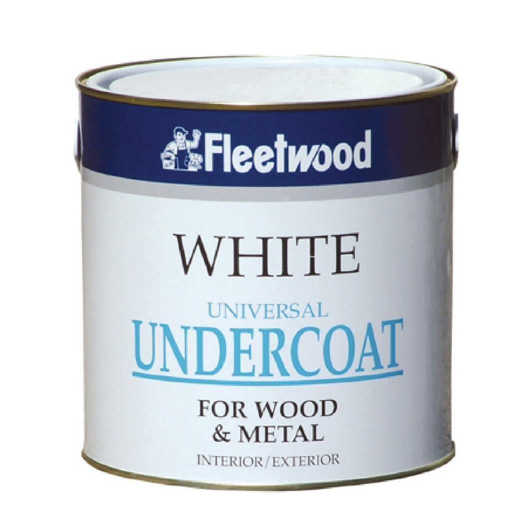 Fleetwood 5ltr Gloss,Undercoat, Non-Drip & Satinwood