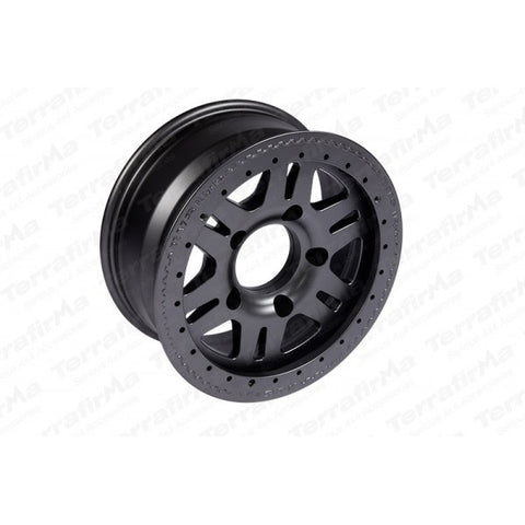 Terrafirma alloy bead lock wheel (Matt Black)