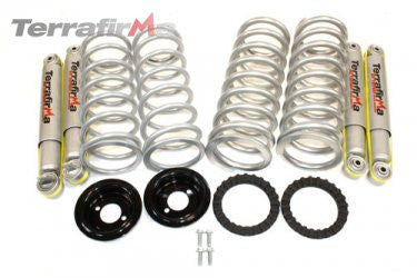 Discovery 2 air to coil conversion kit (Heavy Load, 2 inch lift includes springs and 2 inch All-Terrain Shocks)