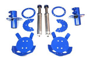 Hydraulic bumps stops and full mounting kit (110/130)