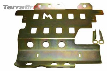 Discovery 2 steel transmission guard