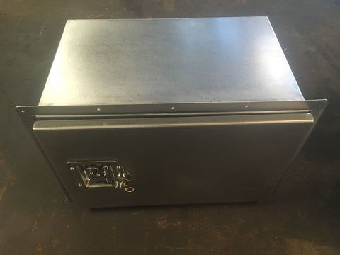 Land Rover Defender 110 full stainless steel Storage Locker Box