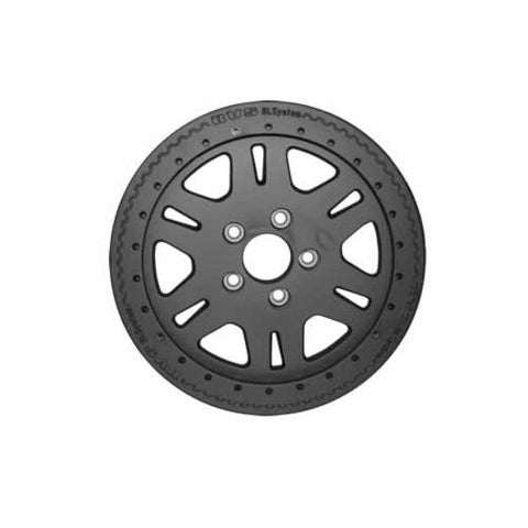 TF106 Terrafirma alloy bead lock wheel (Matt Black)