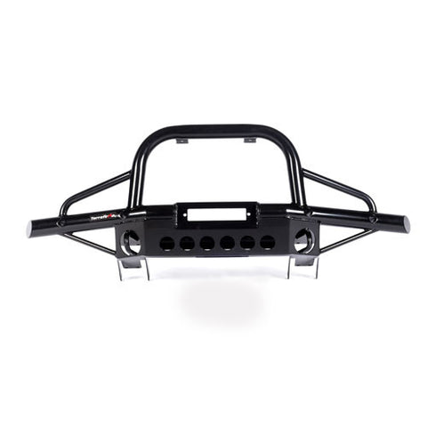 Defender Tubular winch bumper with A-bar (AC)