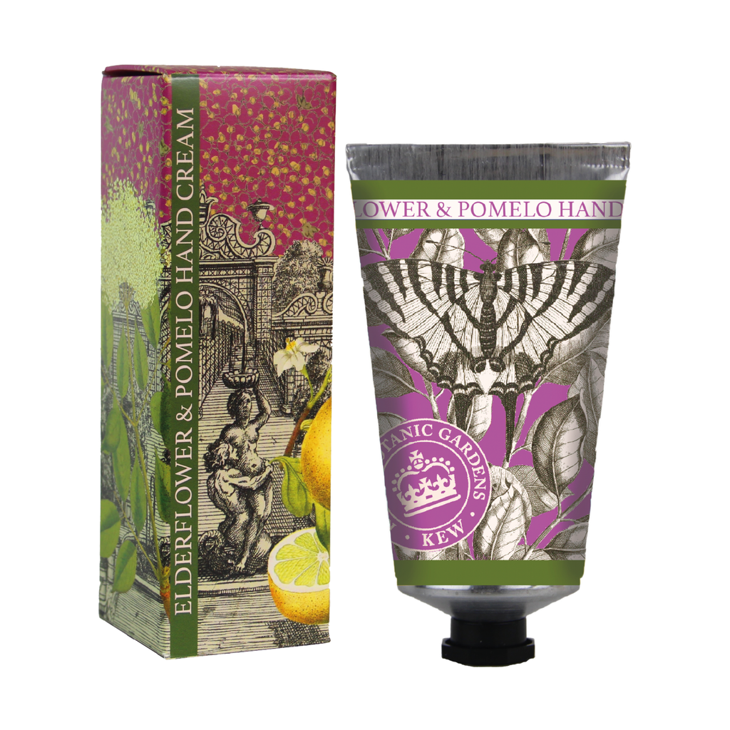BACK IN STOCK! Kew Gardens Elderflower and Pomelo Hand Cream