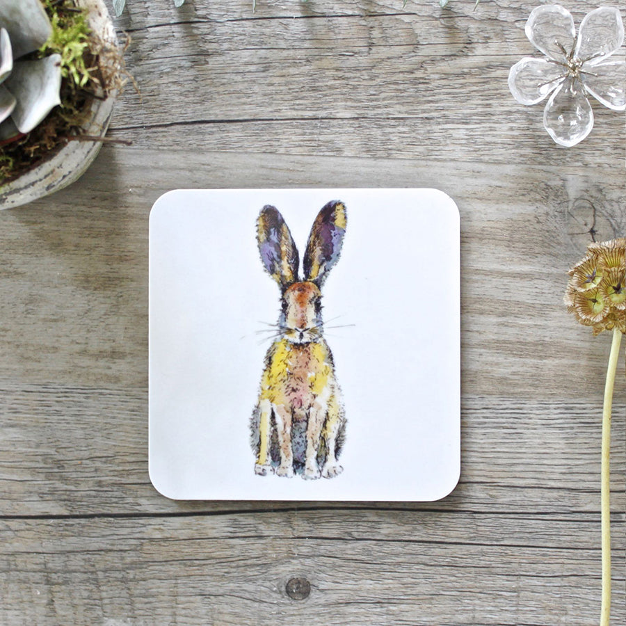 BACK IN STOCK! Toasted Crumpet Hare Coaster