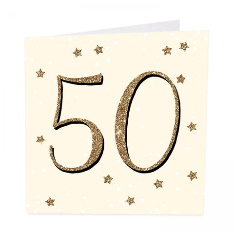 ArtBeat 50th Birthday Card