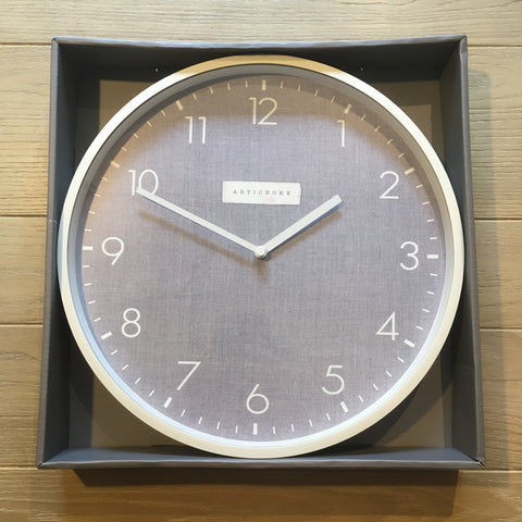 ONLY FOUR LEFT! Artichoke Designs Clock (Large)