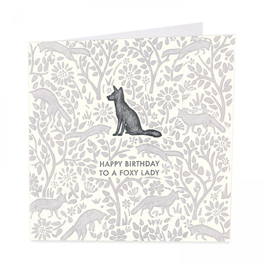 ArtBeat 'Foxy Lady' Birthday Card