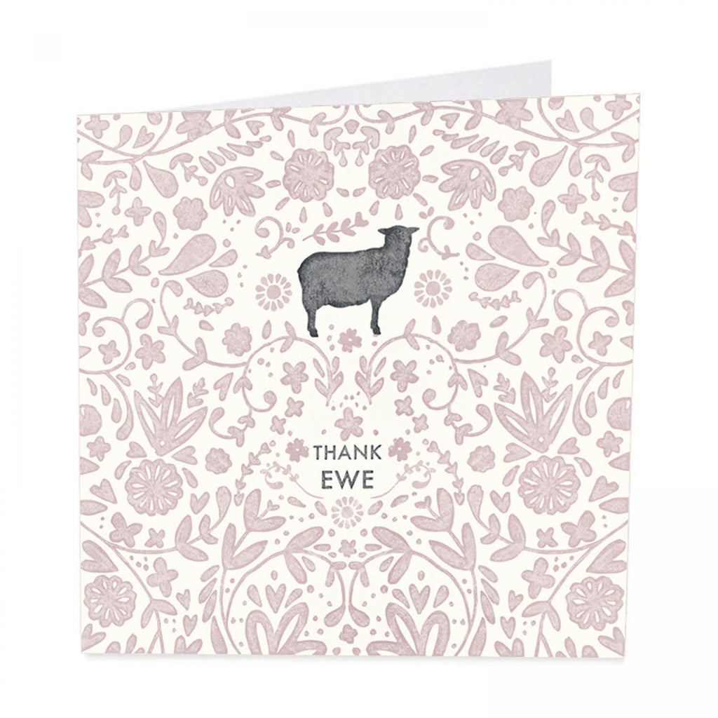 ArtBeat 'Thank Ewe' Greetings Card
