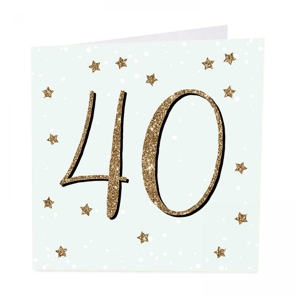 ArtBeat 40th Birthday Card