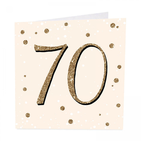 ArtBeat 70th Birthday Card