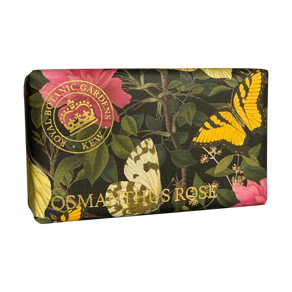 BACK IN STOCK! Kew Gardens Osmanthus Rose Soap