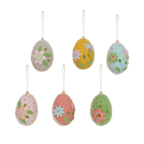 Gisela Graham Felt Easter Eggs