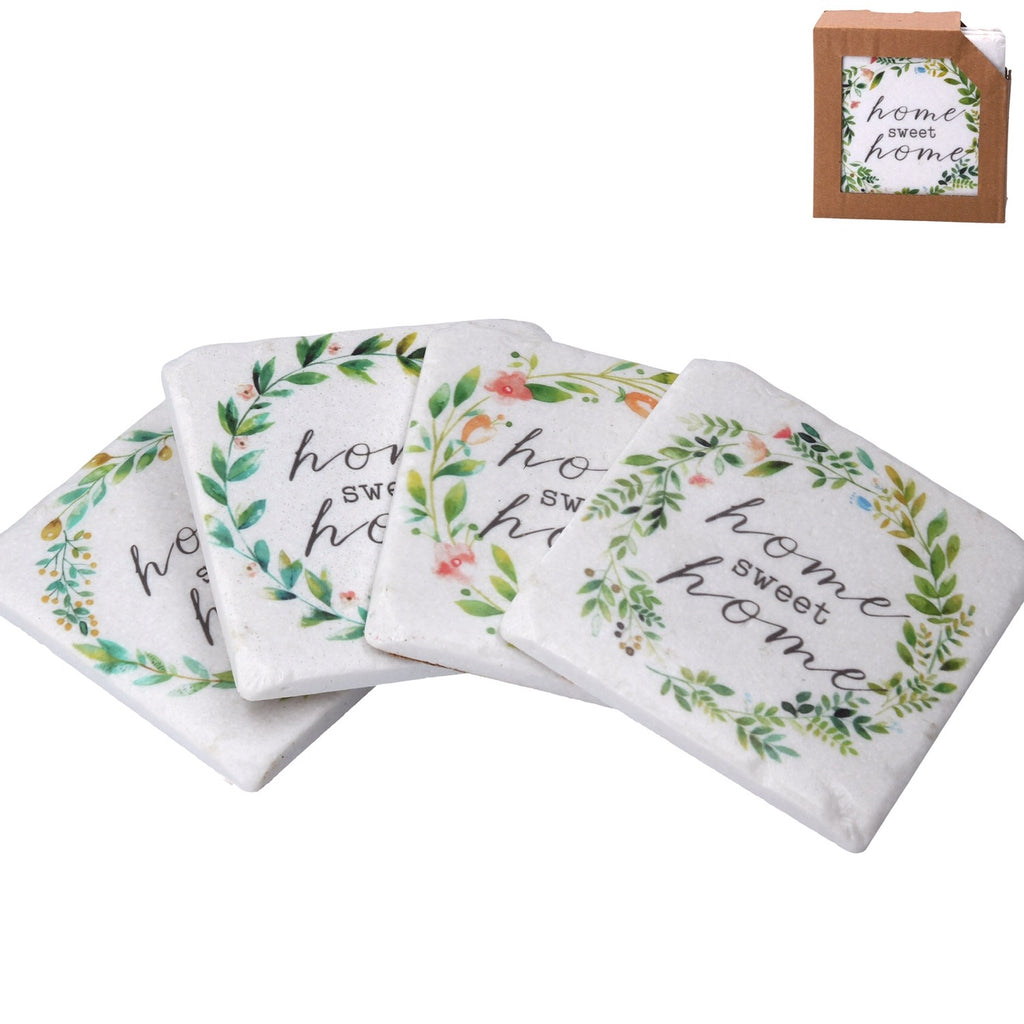 ONLY ONE LEFT! Gisela Graham Home Sweet Home Coasters