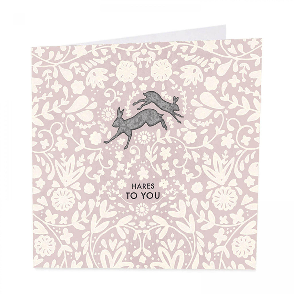 ArtBeat 'Hares To You' Greetings Card