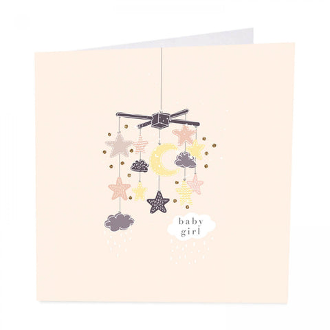 ArtBeat Baby Girl Greetings Card
