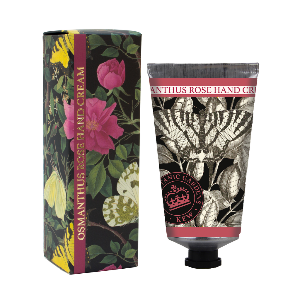 ONLY THREE LEFT! Kew Gardens Osmanthus Rose Hand Cream
