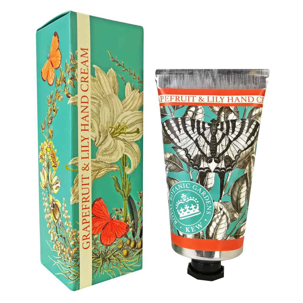 BACK IN STOCK! Kew Gardens Grapefruit and Lily Hand Cream