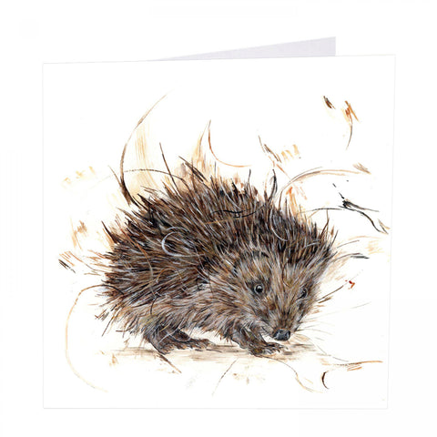 ArtBeat 'Little Rascal' Hedgehog Greetings Card