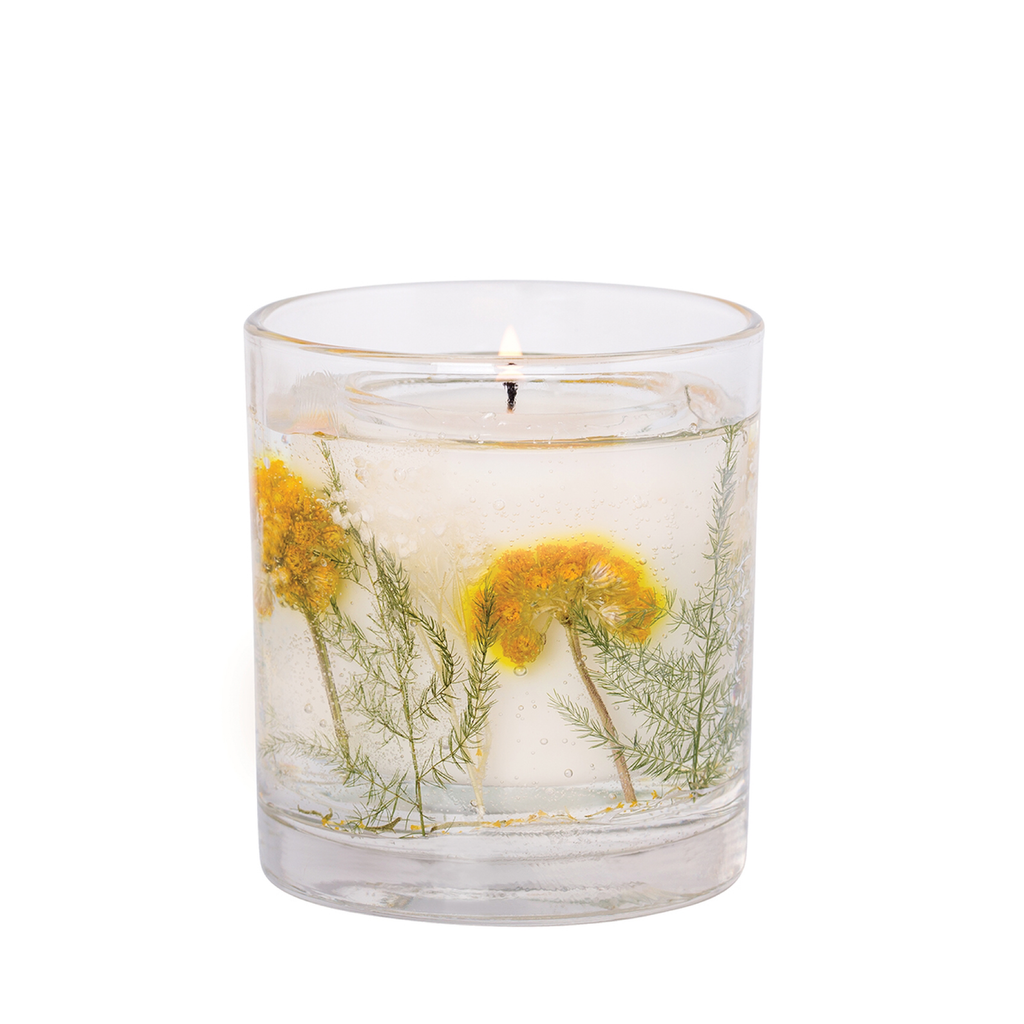 ONLY THREE LEFT! Stoneglow Stargazer Lily Glass Tumbler Candle