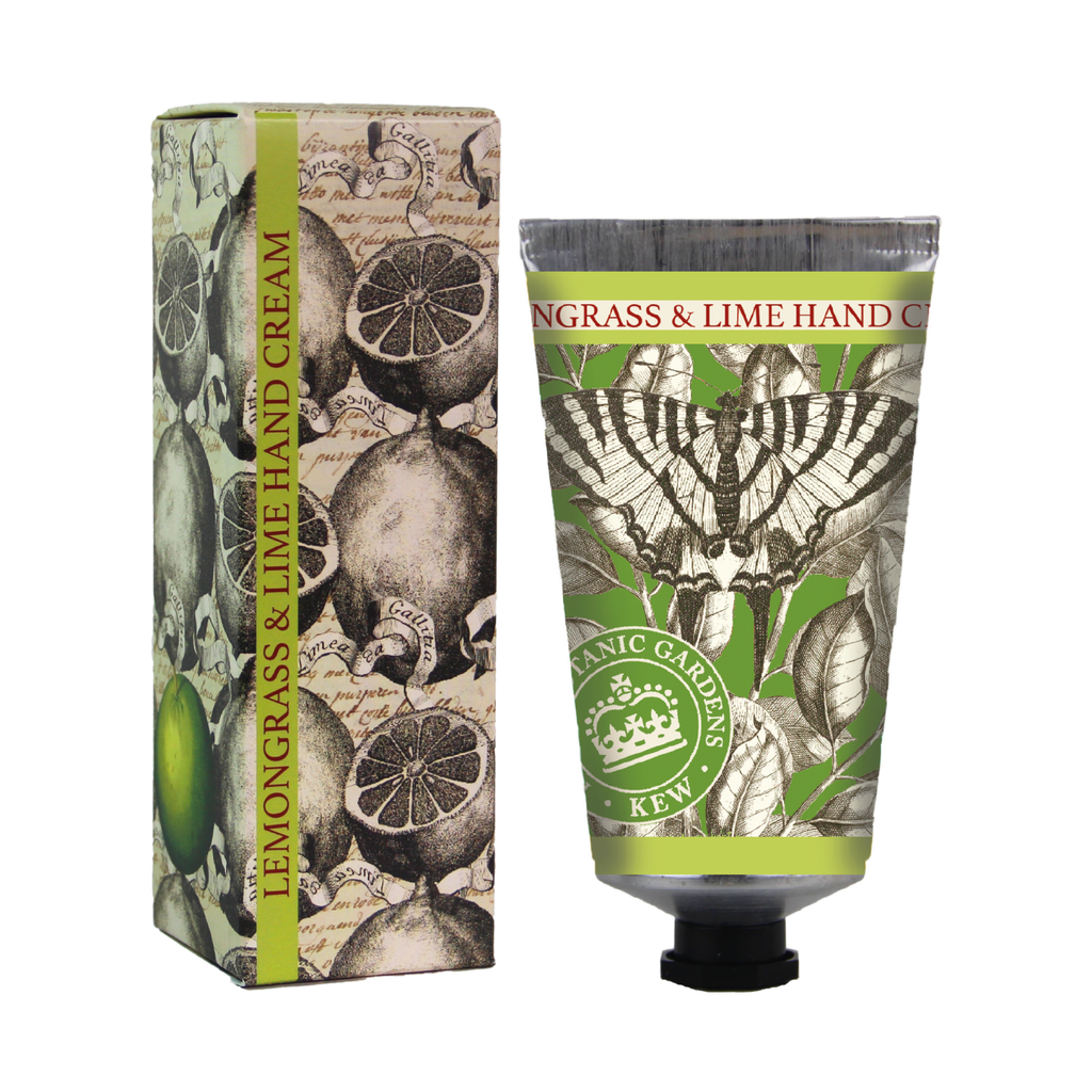 Kew Gardens Lemongrass and Lime Hand Cream