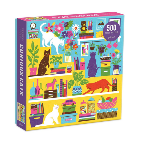 NEW! Curious Cats Jigsaw