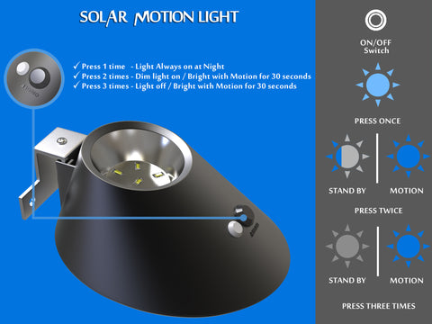 Solar Light Outdoor Settings
