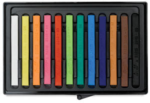 Conte a Paris Conte Crayons (Hard pastels) - set of 12