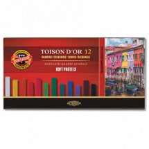 Toison D'or Set of Soft Pastels (12 Pastels)