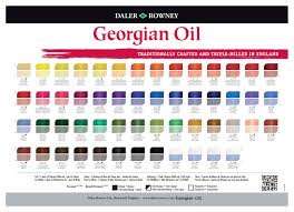 Georgian Oil Paint 38ml tube