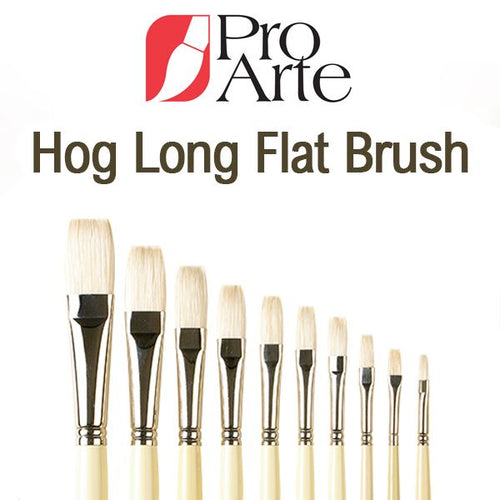 Pro-Arte Series B Long Flat Hog