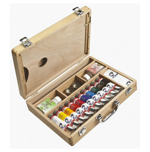 VanGogh Acrylic Wooden Box Set