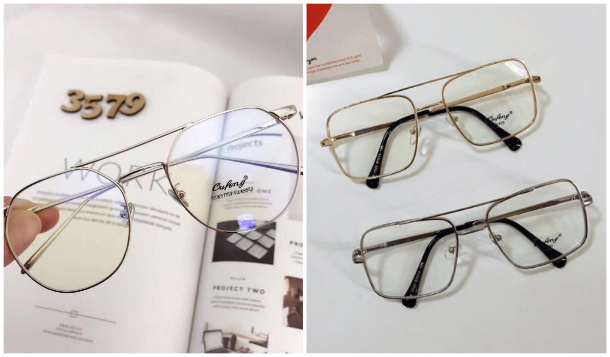 15 Aesthetic Clear Glasses Aviator Transparent Korean Glasses itGirl Shop Blog