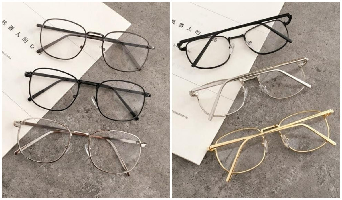 15 Aesthetic Clear Glasses Retro Aesthetic Thin Frame Glasses itGirl Shop Blog