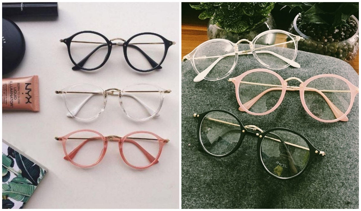 15 Aesthetic Clear Glasses Round Clear Aesthetic Glasses itGirl Shop Blog