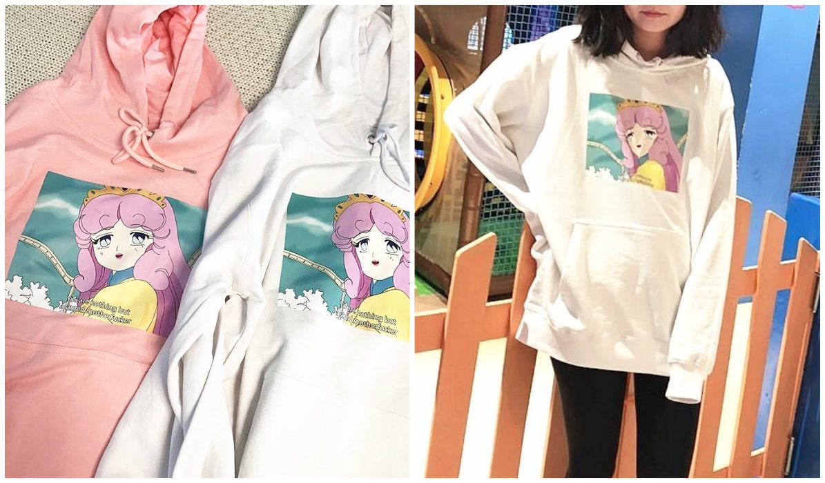 Anime Aesthetic Clothing Compilation Retro Anime Meme Aesthetic Hoodie itGirl Shop Blog