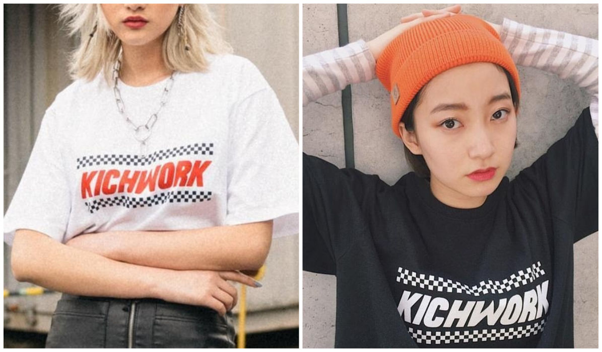 Checkered Grid Outfits Compilation Kichwork Crush Checkered T-Shirt itGirl Shop Blog