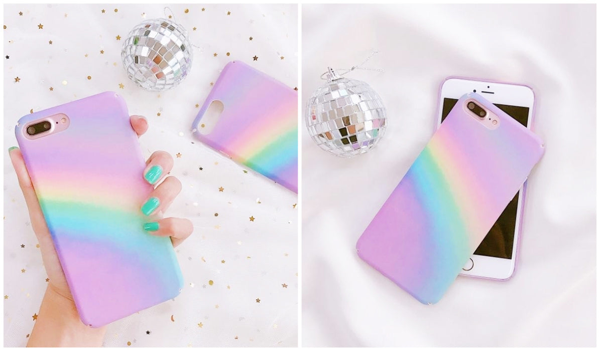 Rainbow Clothing and Accessories Pastel Rainbow Ray Pink iPhone Cover itGirl Shop Blog